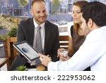 happy smiling caucasian... | Shutterstock . vector #222953062