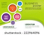 stylish presentation of... | Shutterstock .eps vector #222964096