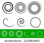 Simple Spiral Set With Thick...