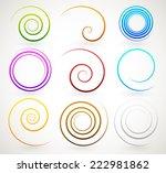 Colorful Spirals  Twirls
