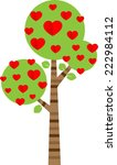 vector tree | Shutterstock .eps vector #222984112
