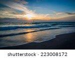 Gulf Coast Sunset In Florida