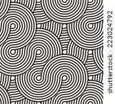 seamless pattern. geometric... | Shutterstock .eps vector #223024792