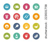 food   drink icons   2    fresh ... | Shutterstock .eps vector #223031758