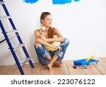 Portrait Of Female Painter...
