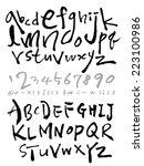 alphabet | Shutterstock .eps vector #223100986