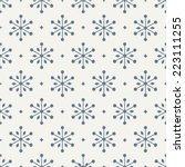 seamless pattern. holiday.... | Shutterstock .eps vector #223111255