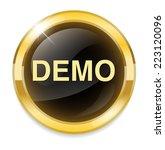 demo icon | Shutterstock .eps vector #223120096