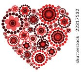 Decorative Floral Heart Perfec...