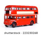 London Bus Isolated With...