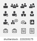 user icon | Shutterstock .eps vector #223233175