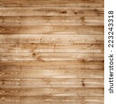 wood pine plank brown texture... | Shutterstock . vector #223243318