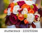 Autumn Wedding Bouquet
