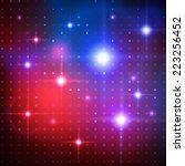 disco lights. vector background.   Shutterstock .eps vector #223256452