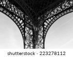 Eiffel Tower Leg Close Up