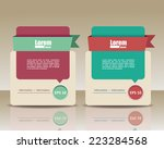 template banners for business | Shutterstock .eps vector #223284568