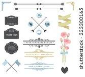 vector illustration of design... | Shutterstock .eps vector #223300165