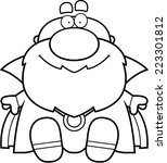 a cartoon illustration of a... | Shutterstock .eps vector #223301812