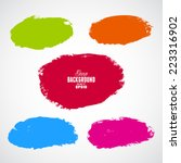 grunge colorful backgrounds | Shutterstock .eps vector #223316902