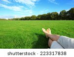 Relax Barefoot Enjoy Nature In...