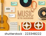 vintage music studio equipment...