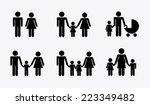 family graphic design   vector... | Shutterstock .eps vector #223349482
