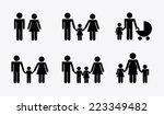 family graphic design   vector... | Shutterstock .eps vector #223349482