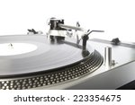 turntable and record player | Shutterstock . vector #223354675