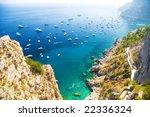 Italian Mediterranean Sea Coast....