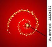 magic wand | Shutterstock .eps vector #22336852