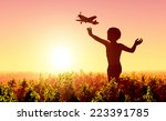 Boy Starts Plane And The Sky.