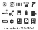 electronic vector illustration... | Shutterstock .eps vector #223430062