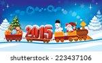 New Year 2015 And Santa Claus...