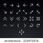 arrow icon set | Shutterstock .eps vector #223473376