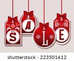 shopping design over white... | Shutterstock .eps vector #223501612