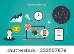 business start infographics... | Shutterstock .eps vector #223507876