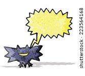 cartoon halloween bat   Shutterstock .eps vector #223564168