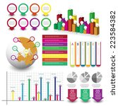 info graphic element set. vector | Shutterstock .eps vector #223584382