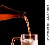 beer | Shutterstock . vector #223674895