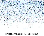 confetti  vector illustration | Shutterstock .eps vector #22370365