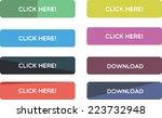 web buttons | Shutterstock .eps vector #223732948
