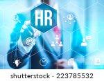 human resources management... | Shutterstock . vector #223785532