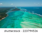 aerial view of sainte marie... | Shutterstock . vector #223794526