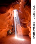 The Famous Antelope Canyon In...