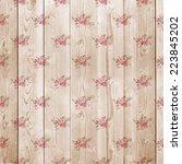 digital paper for scrapbook... | Shutterstock . vector #223845202