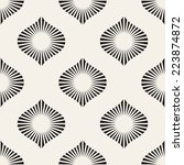 seamless pattern. classical... | Shutterstock .eps vector #223874872
