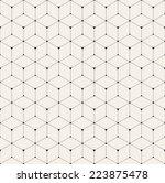 vector seamless pattern. modern ... | Shutterstock .eps vector #223875478