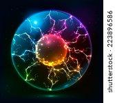 Rainbow Colors Vector Plasma...
