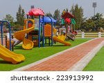 Colorful Playground At Lunch...