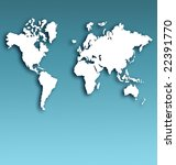 best earth map | Shutterstock . vector #22391770